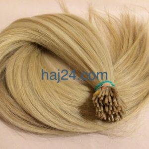 Hamvas szőke I. osztályú 100% emberi haj