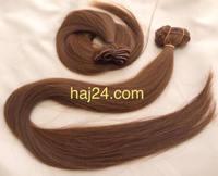 Tresszelt gesztenyebarna I. osztályú 100% emberi haj