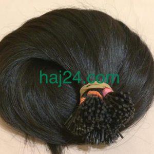 Natúr barna tincses I. osztályú 100% emberi haj