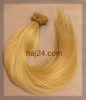 Méz szőke tincsesI. osztályú 100% emberi haj