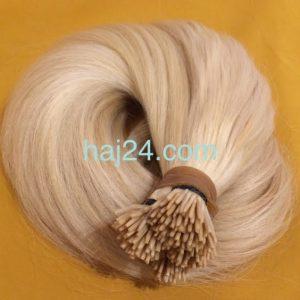 Világos szőke tincses hajak I. osztályú 100% emberi haj